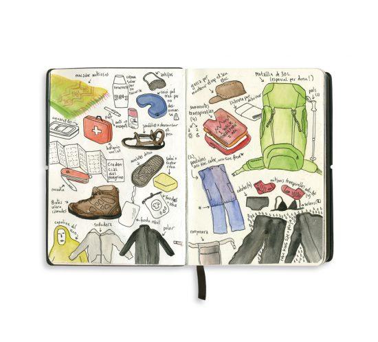 Cuaderno de viaje: Camino de Santiago-0