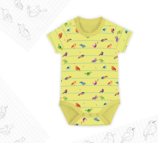 Birds&Lines Babies SS18 / Body Rapport