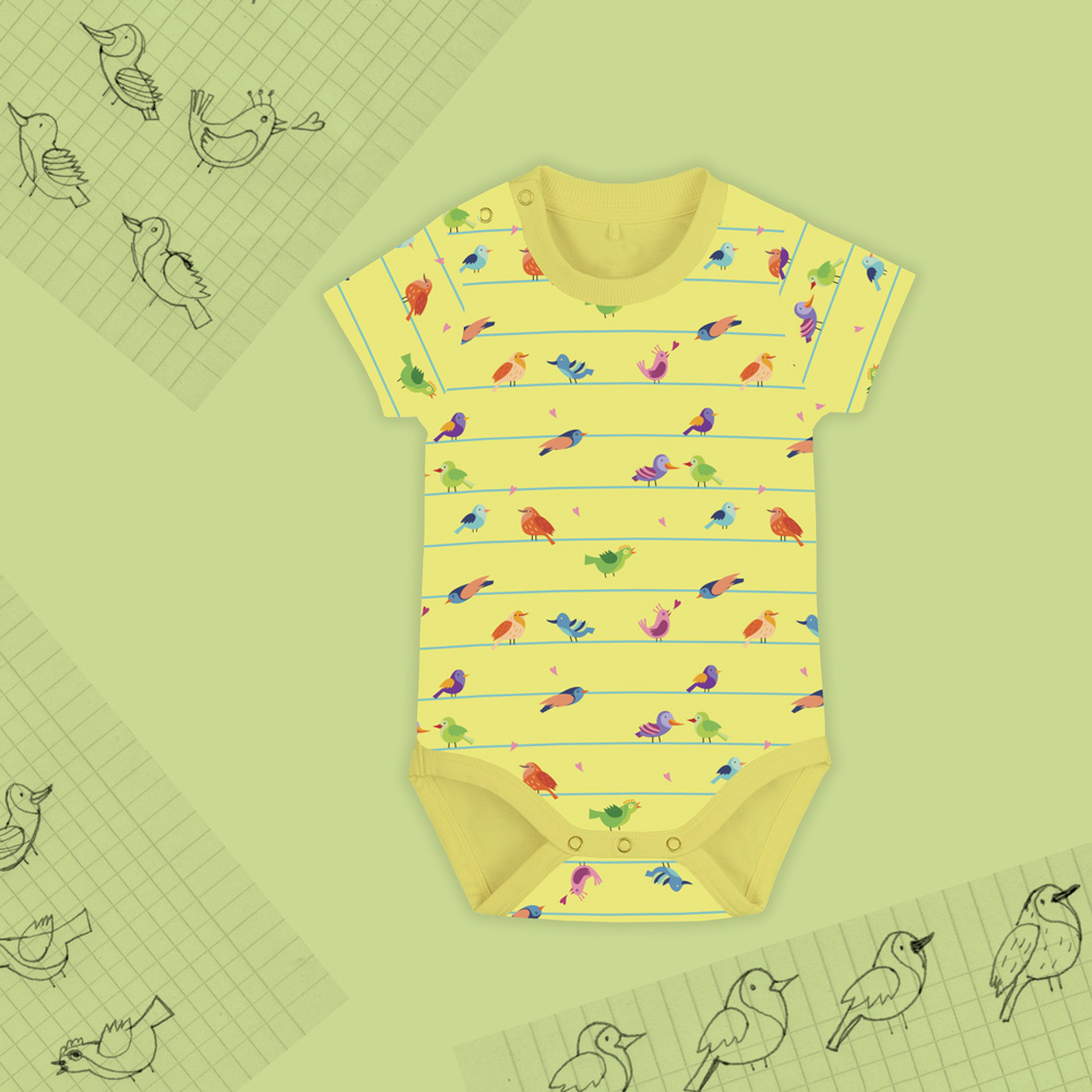 Birds&Lines Babies SS18 / Body Y