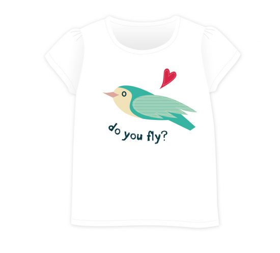 Birds&Lines Babies SS18 / TShirt / Positional3 W