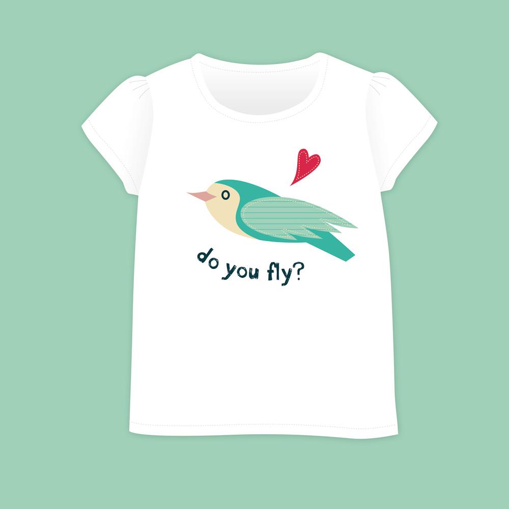 Birds&Lines Babies SS18 / TShirt / Positional3 G