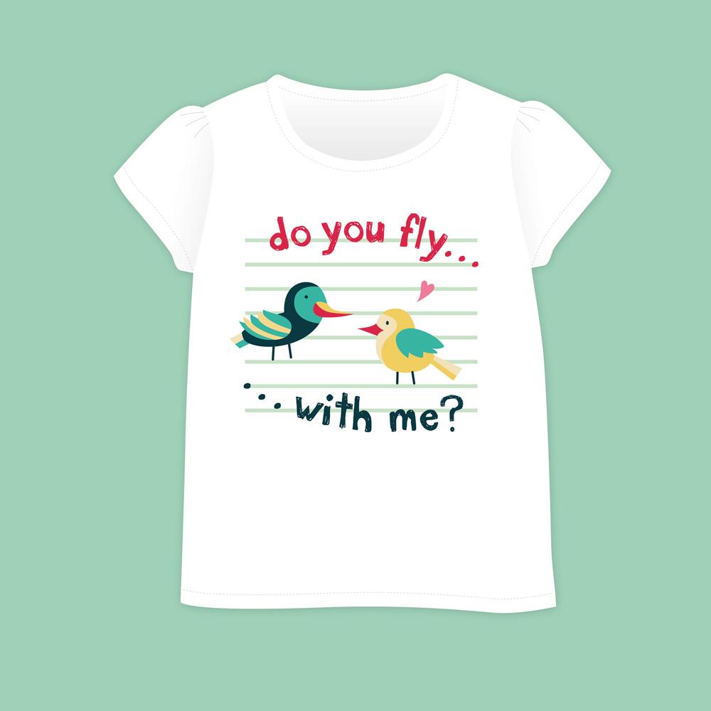 Birds&Lines Babies SS18 / TShirt / Positional2