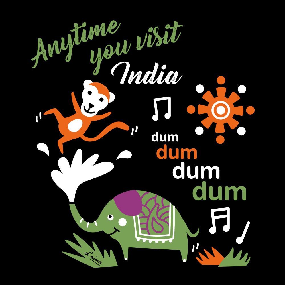 Tote Bag India/Disseny