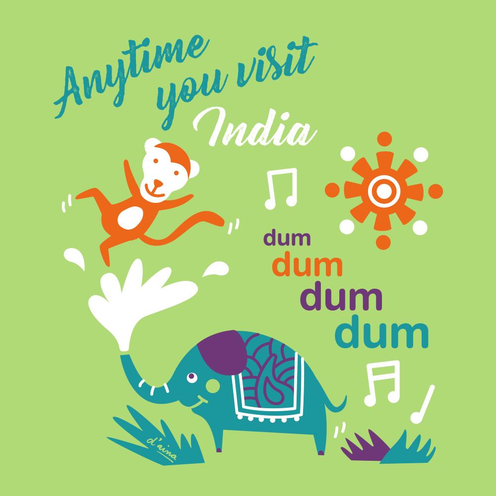 Samarreta Kids India/Disseny
