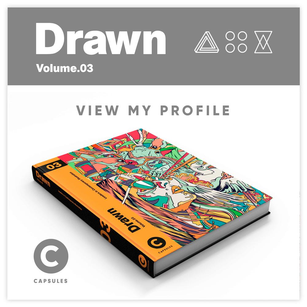 See my Portfolio / Drwan Vol. 3 Capsules Book