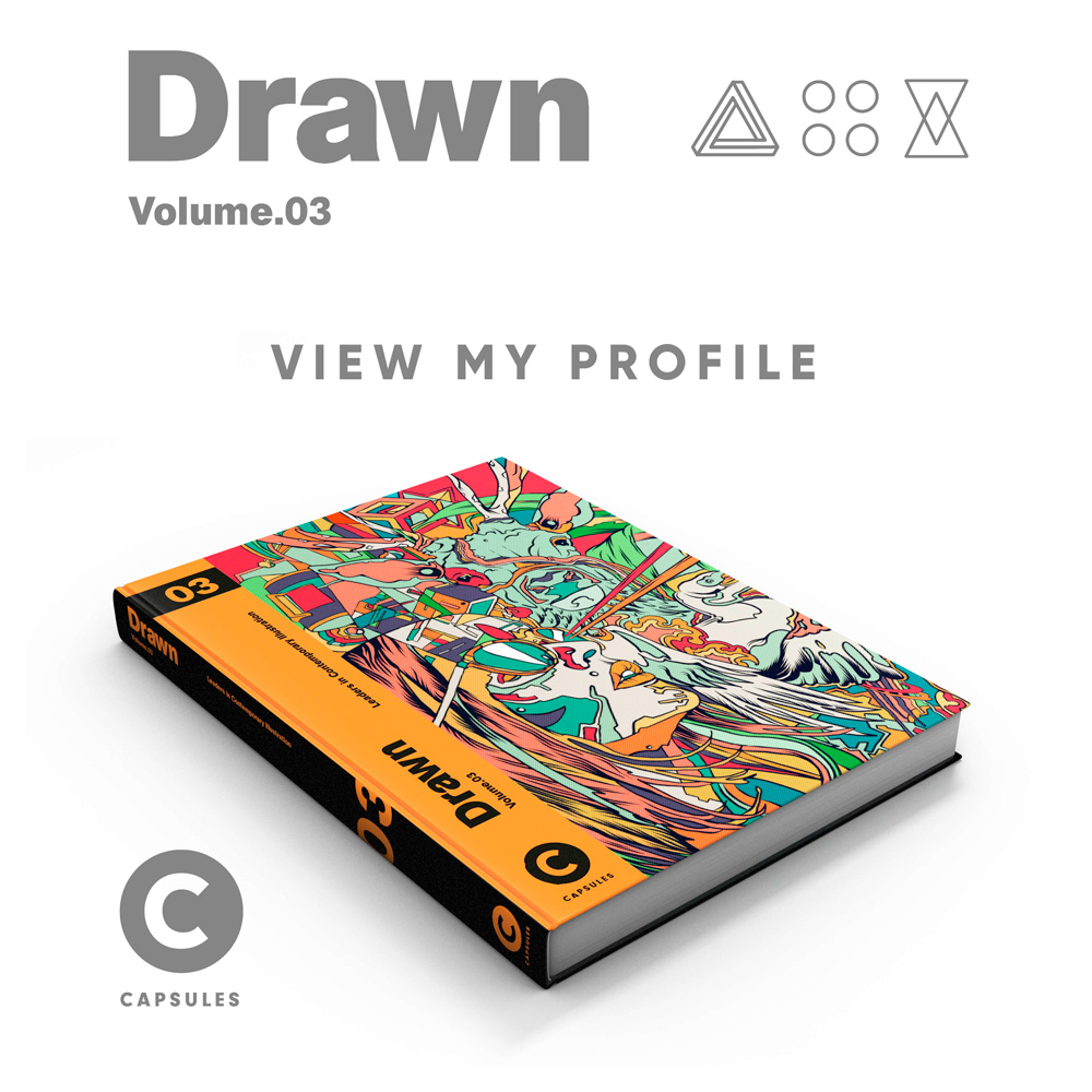 Drawn Volume 3 / CAPSULES BOOK. Melbourne, Australia