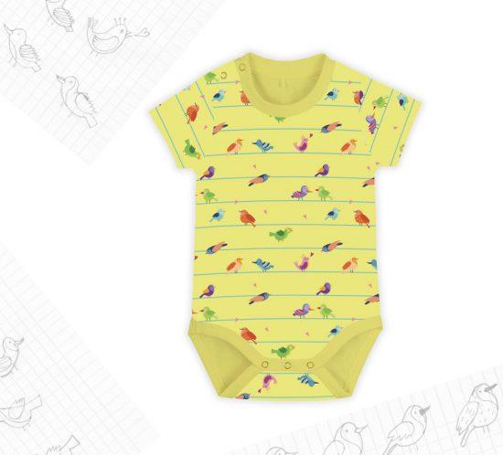 Birds&Lines Babies SS18 / Body Rapport