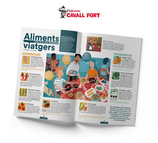 Revista Cavall Fort 1413_ALIMENTSVIATGERS